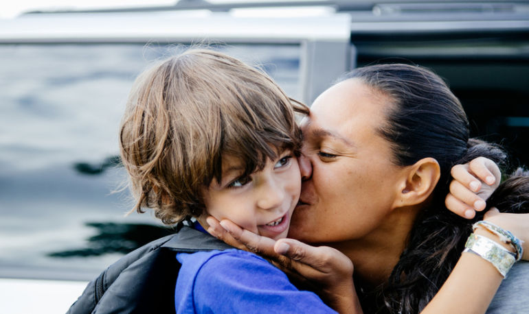 A Foolproof Morning Checklist For Dropping Happy Kids Off At School Hero Image