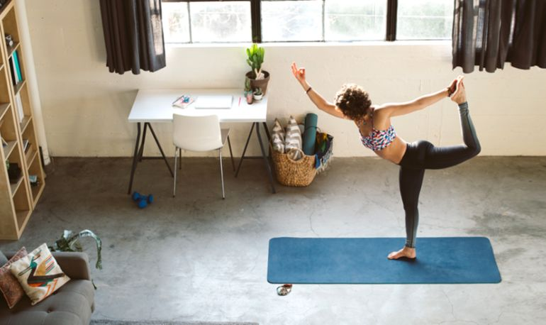 The Quick & Easy Way To Kick-Start Your Home Yoga Practice Hero Image