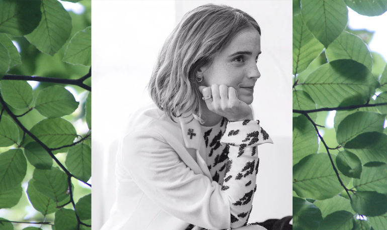 A Peek Into The Eco-Friendly Routine Keeping Emma Watson Glowy AF Hero Image