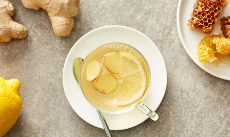 The Best Homemade Ginger Tea Ever Hero Image
