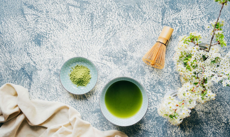 Your Skin Will Drink Up The Nutrients In This Vitamin-Packed Matcha Bath Bomb Hero Image