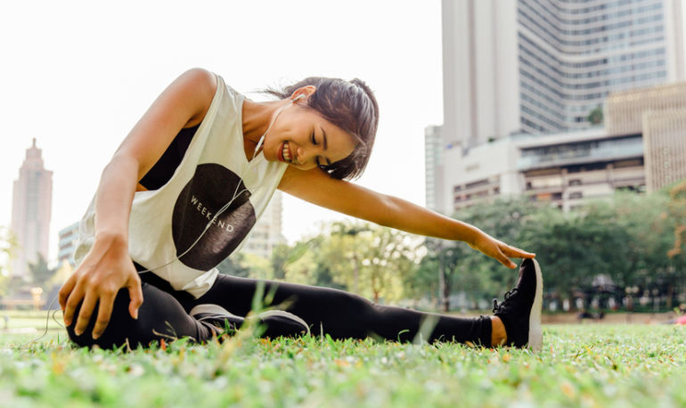 The Miraculous Thing That Happens When You Take Your Yoga Practice Outside Hero Image