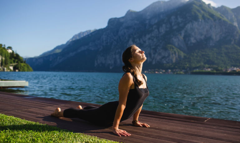 6 Yoga Poses That Will Boost Your Self-Esteem & Improve Digestion Hero Image