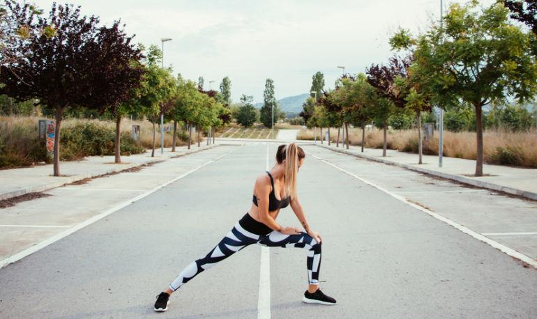 Let's Clear This One Up: Should You Do Yoga Before You Run? Hero Image