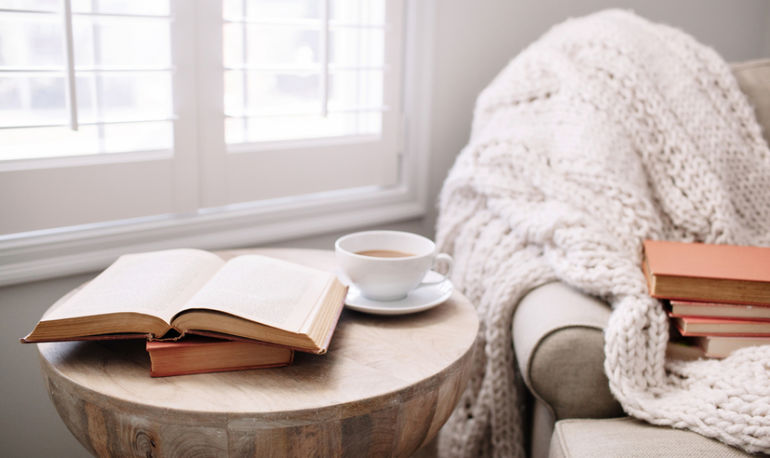 The Next Step In Self-Care Is Cultivating A Cozy Home Hero Image