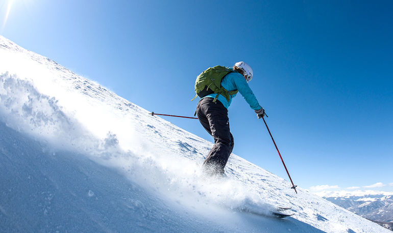The 5 Yoga Poses You Can Do On Skis (From A Champion Skier) Hero Image