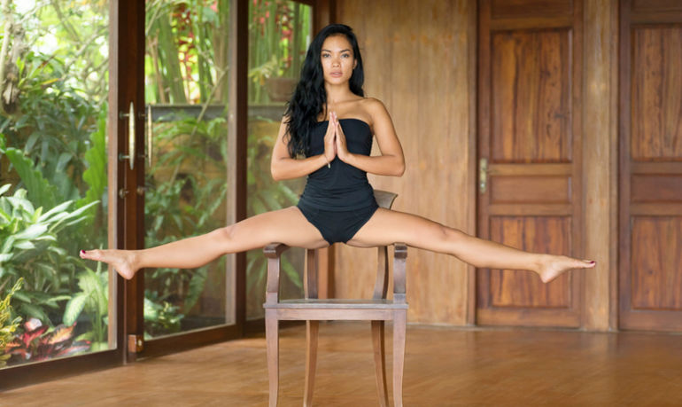 5 Mood-Boosting Yoga Poses You Can Do Without Getting Up From Your Chair Hero Image