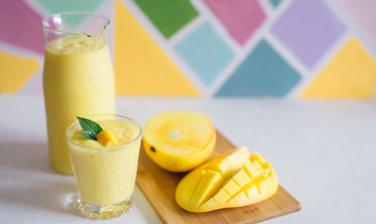 An Orange-Mango Creamsicle Smoothie To Sip Poolside Hero Image