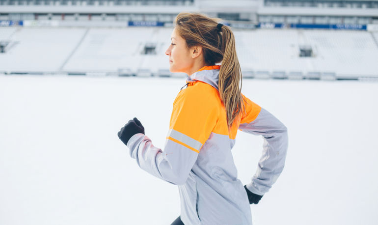 3 Ways To Keep Exercising Even When It's Uncomfortably Cold Outside Hero Image