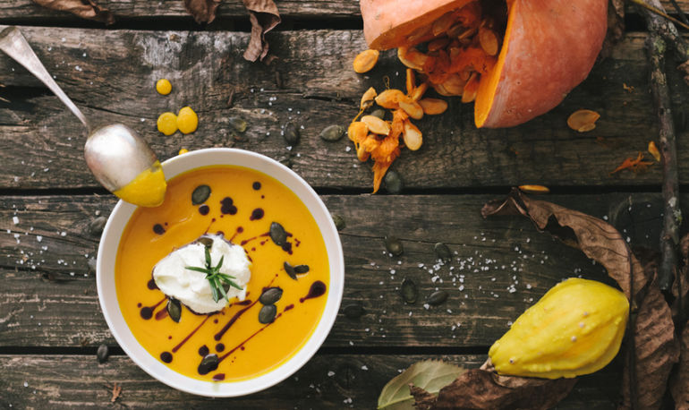 Fall-Inspired Ways To Replenish Your Gut Bacteria Hero Image
