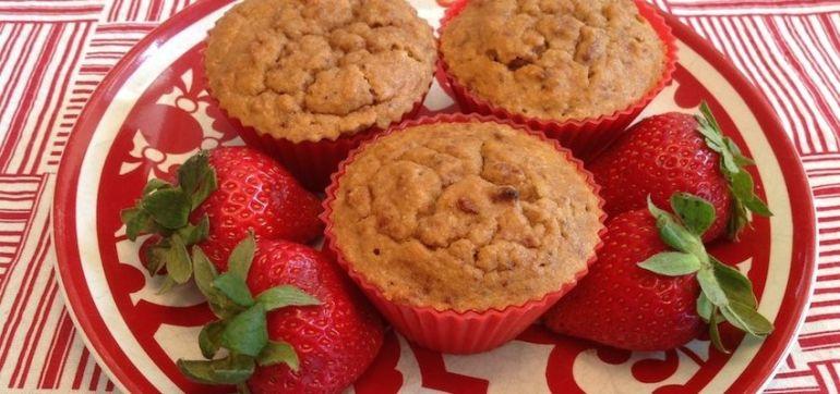 Rise 'N Shine Strawberry-Vanilla Muffins (They're Gluten-Free!) Hero Image