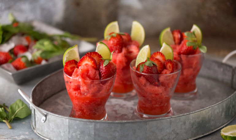 A Healthier Frozen Margarita To Celebrate Cinco De Mayo Hero Image