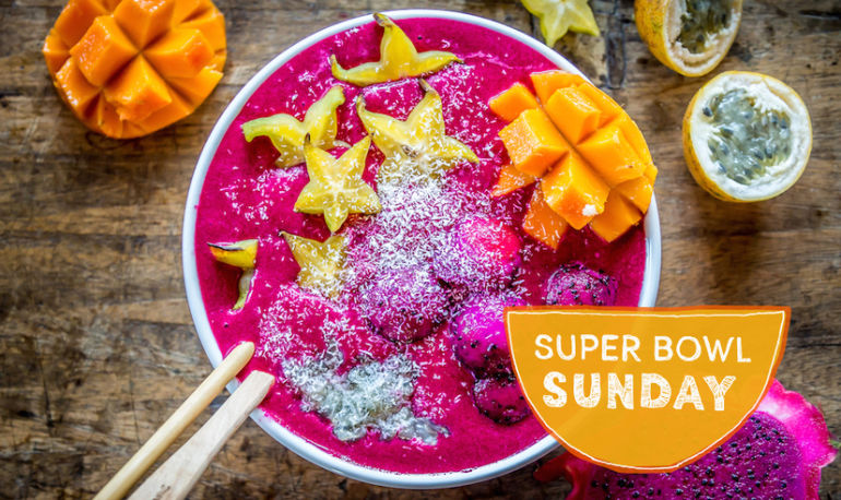 Start Your Morning With A Beet + Dragon Fruit Smoothie Bowl Hero Image