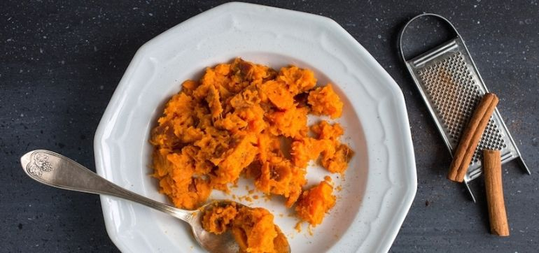 A Vegan Alternative To Sweet Potato Mash Hero Image
