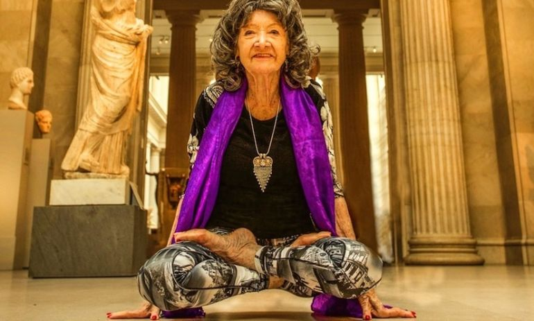 The World's Oldest Yoga Teacher Turns 97 Today: Happy Birthday, Tao! Hero Image
