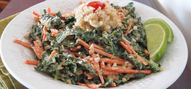 Thai-Style Quinoa Salad (It's Vegan, Too!) Hero Image