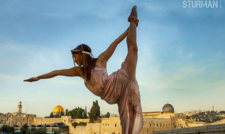 Yoga In Jerusalem Through The Lens Of Photographer Robert Sturman Hero Image