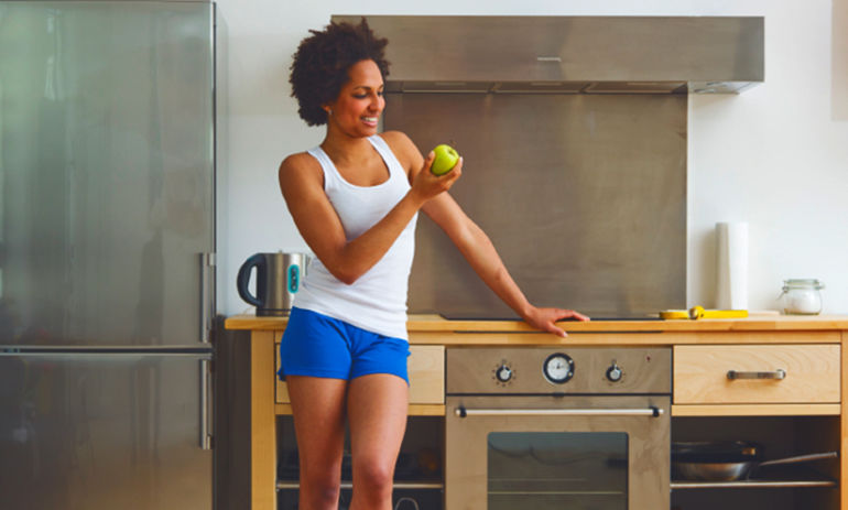 A 2-Minute Workout You Can Do At Your Kitchen Counter Hero Image