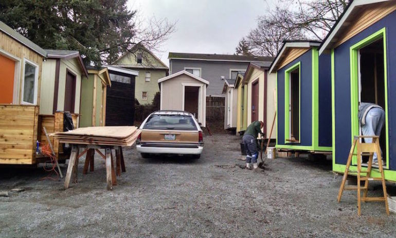 Seattle Just Built A Tiny Home Village For An Inspiring Reason Hero Image