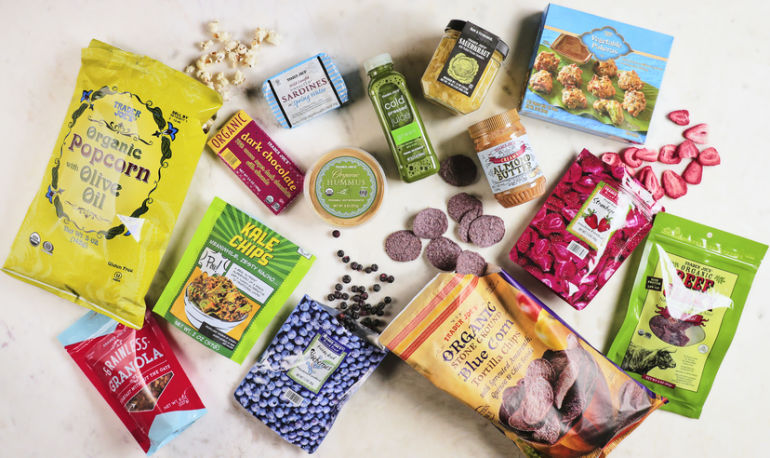 Found: The Healthiest Snacks You Can Buy At Trader Joe's Hero Image