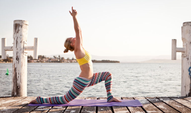 Feeling Anxious? This Yoga Sequence Will Do The Trick Hero Image