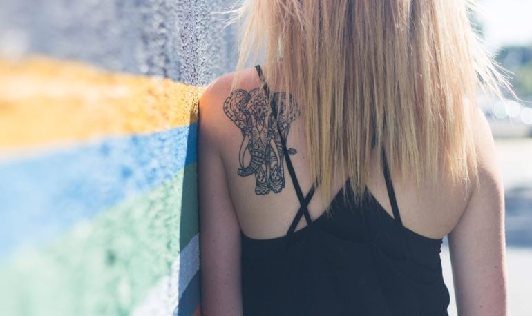 What My Yoga Tattoo Fail Taught Me About Letting Go Of Perfection Hero Image