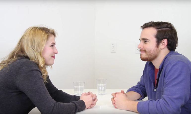 Can You Fall In Love With Someone With 36 Questions? Watch These Strangers Try Hero Image