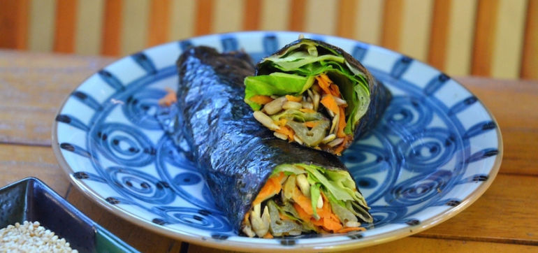 Perfect Weekday Lunch: Vegan Nori Rolls Hero Image