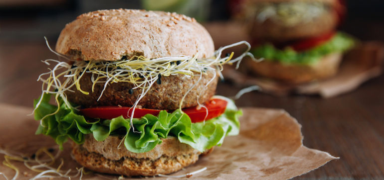 The Easiest Black Bean Burger You'll Ever Make Hero Image