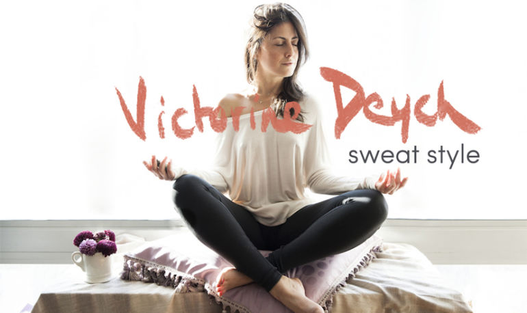 Sweat Style: What Holistic Beauty Expert Victorine Deych Wears To Work Out Hero Image