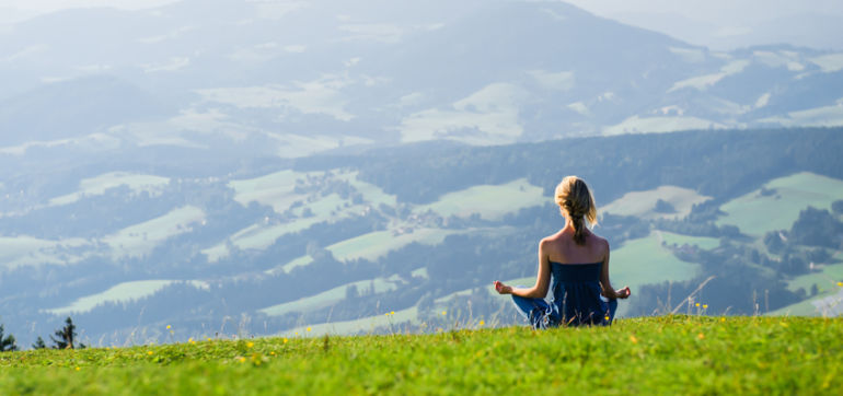 Simple Ways To Squeeze Meditation Into A Busy Life Hero Image