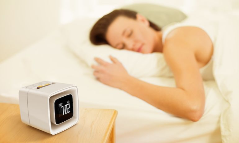 This Genius Alarm Clock Wakes You Up With The Smell Of Coffee Hero Image