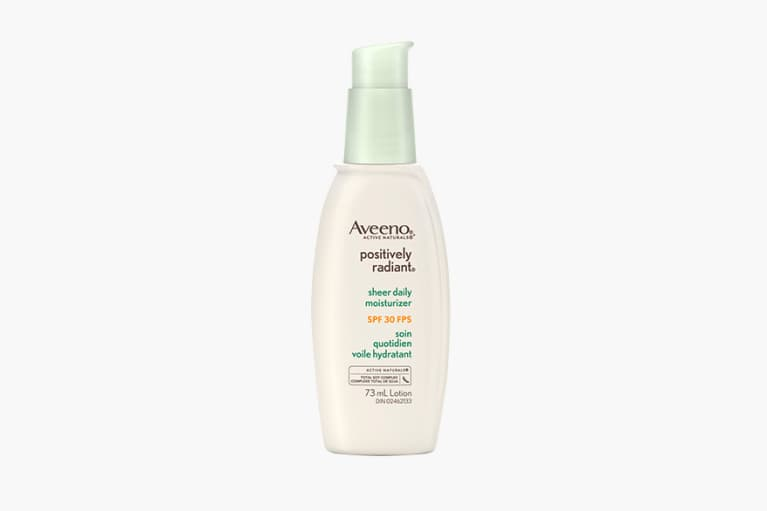 AVEENO® POSITIVELY RADIANT® Sheer Daily Moisturizer With Broad Spectrum SPF 30