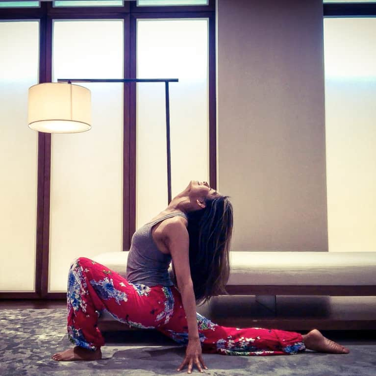 Can't Sleep? This Relaxing Yoga Sequence Will Change That