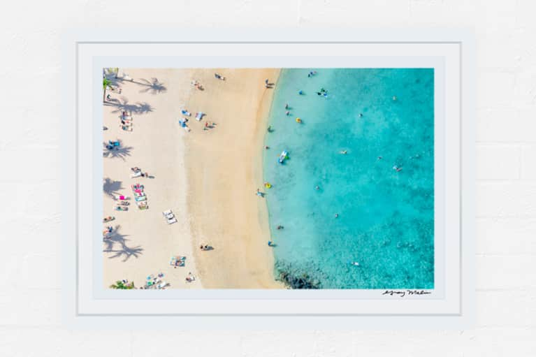 Mauna Lani Beach Print