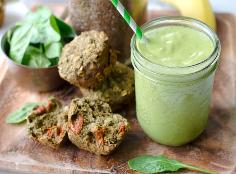 Meet The Grab-And-Go Green Smoothie Muffin That Will Revolutionize Your Mornings