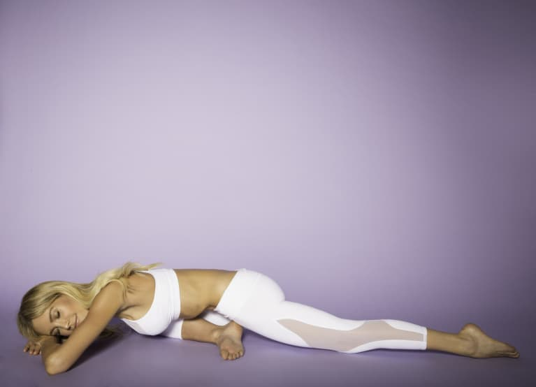 You'll Want To Steal This Restorative, Hip-Releasing Yoga Sequence