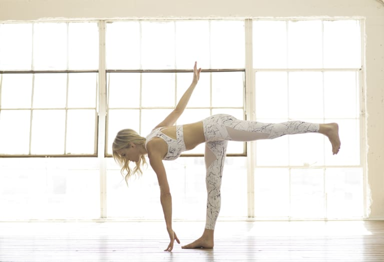 The One Yoga Sequence To Help With Tight Muscles & Balancing Breath