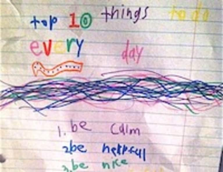 10 Things to Do Every Day (According to My 8 Year-Old Sister)