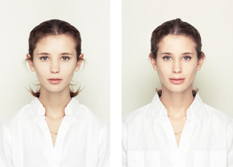 Photo Series Shows That More Symmetrical Doesn't Mean More Beautiful