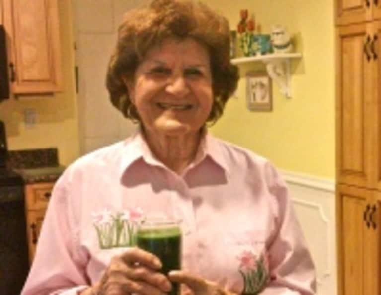My 89-Year-Old Grandma Loves Green Juice