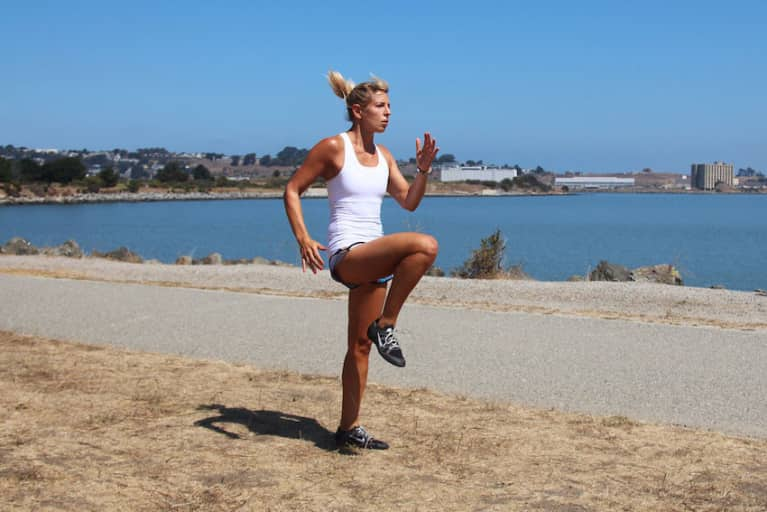 A 12-Minute HIIT Workout You Can Do Anywhere