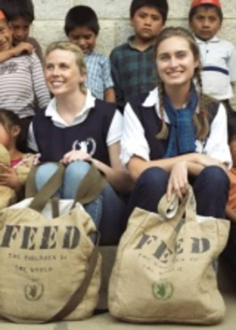Q & A with Lauren Bush & Ellen Gustafson of FEED