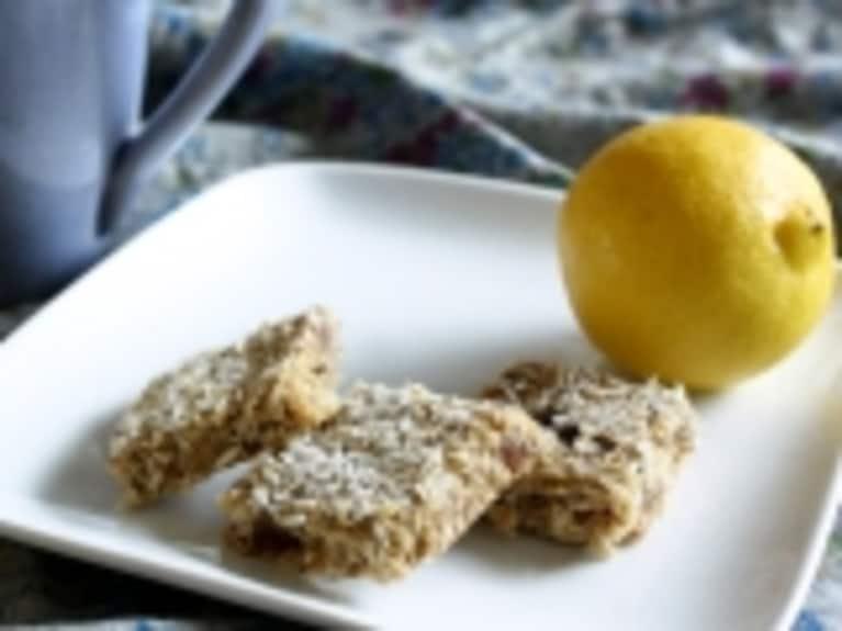 Lemon Coconut Breakfast Bars