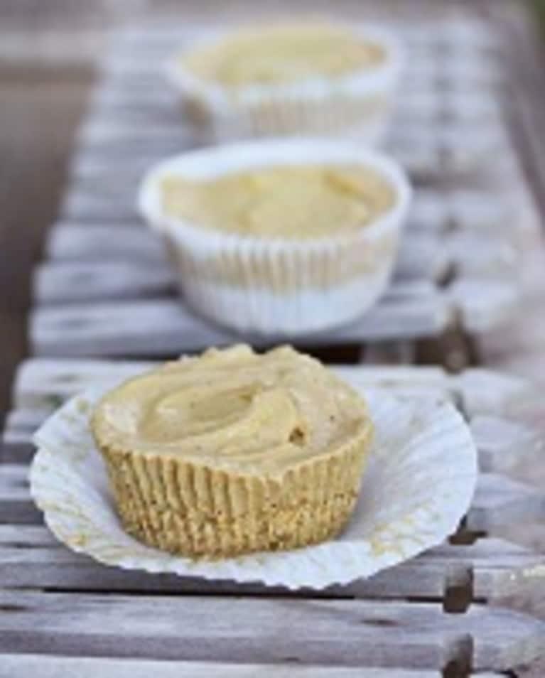 Lucuma Ice Cream Cupcakes