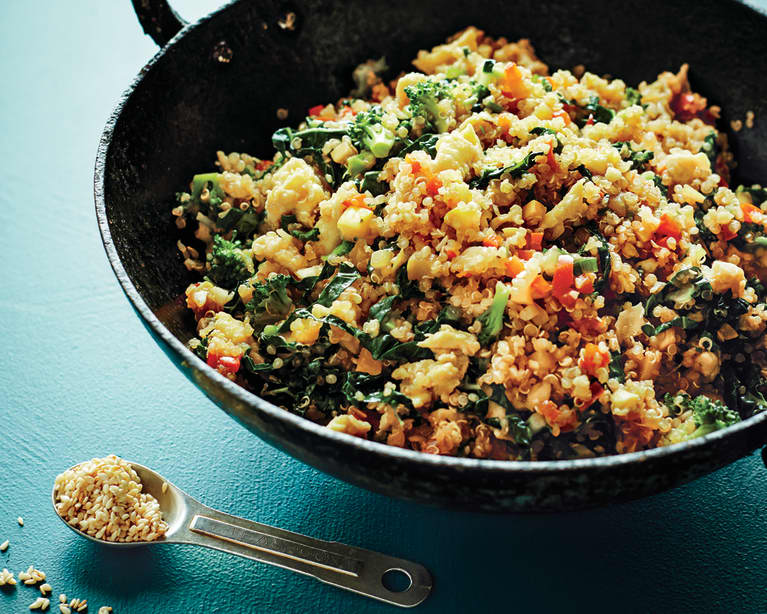 """Cook This For Dinner Tonight: Quick Quinoa Fried """"Rice"""""""