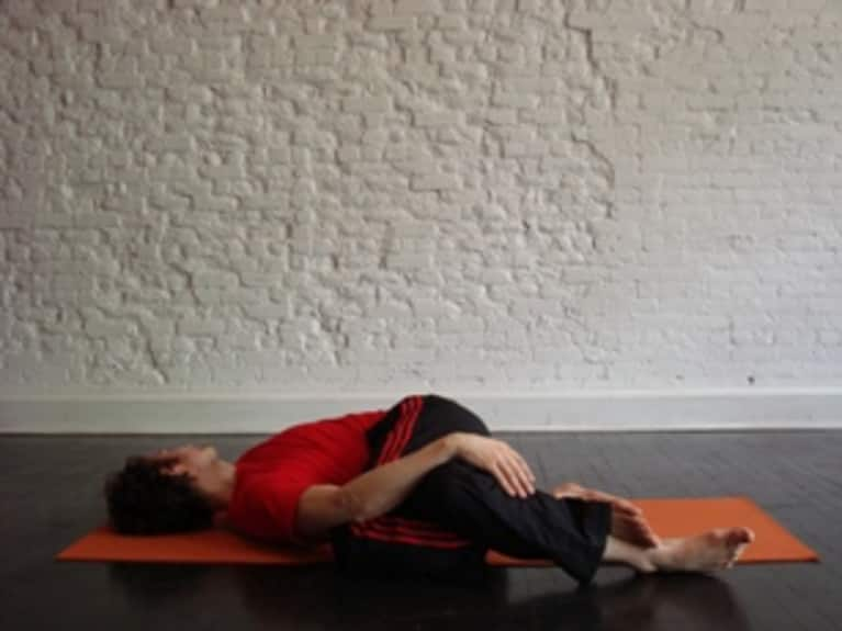 Reclining Eagle Twist: How-to, Tips, Benefits