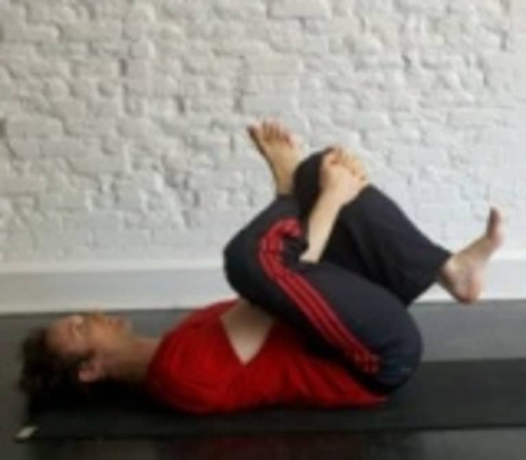 Reclining Half Ankle to Knee Pose: How-to, Tips, Benefits