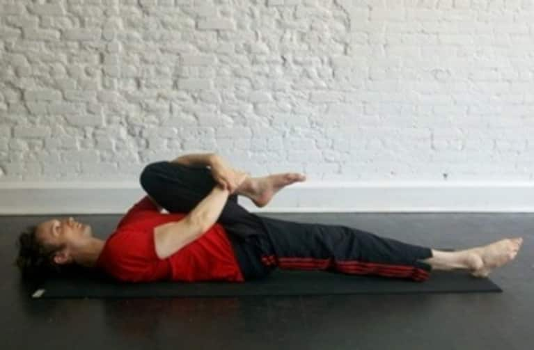 Reclining Knee to Chest Pose: How-to, Tips, Benefits