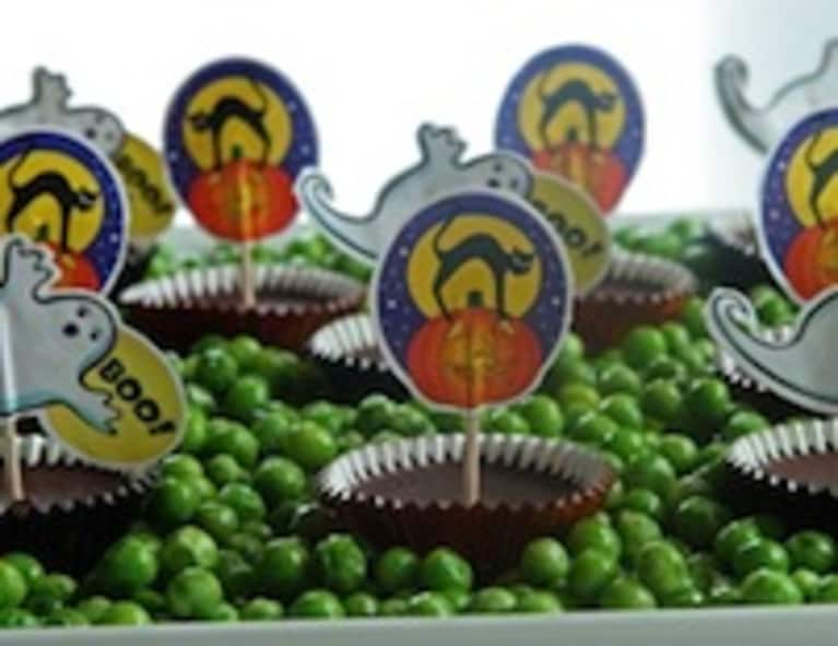 "Raw Chocolate Halloween Recipe ""Rest in Peas"""